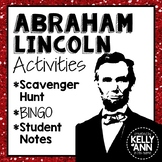 Abraham Lincoln Activity Bundle