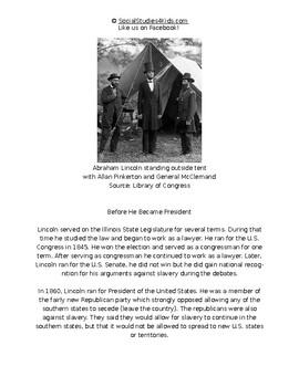 Abraham Lincoln - Biography