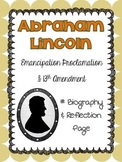 Abraham Lincoln Biography - Emancipation Proclamation & 13th Amendment