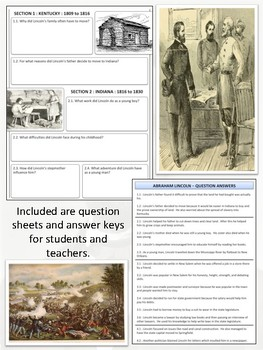 Abraham Lincoln - Biography & Magazine Project