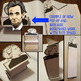Abraham Lincoln Biography Research, Bookmark Brochure, Pop-Up, Writing