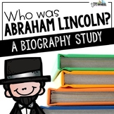 Who was Abraham Lincoln? A Biography Trifold Unit