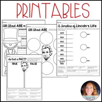 Abraham Lincoln: Biography Writing Unit