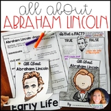Abraham Lincoln: Biography Writing Unit
