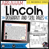 Abraham Lincoln: Biography, Timeline, Graphic Organizers, Text-based Questions