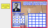 Abraham Lincoln Boggle  Activity Digital and Google Classroom Ready