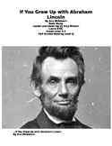 Abraham Lincoln Book Study: If You Grew up with Abraham Lincoln