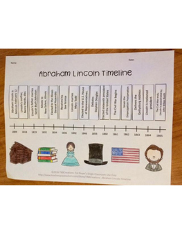 Abraham Lincoln Activities Bundle