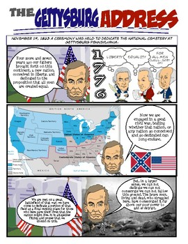Abraham Lincoln Bundle-Comic, Puzzles, Fakebook & More