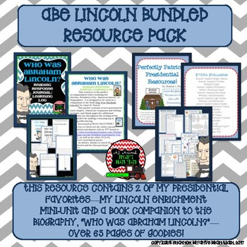 Abraham Lincoln Bundled Resource Pack