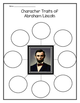 Abraham Lincoln- Character Traits