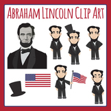 Abraham Lincoln Clip Art Pack for Commercial Use