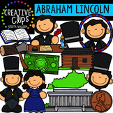Abraham Lincoln  Clipart {Creative Clips Clipart}