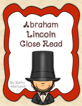 Abraham Lincoln Close Read