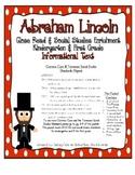 Abraham Lincoln Close Read, with Common Core & TN Social S