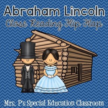 Abraham Lincoln Close Reading Flip Flap