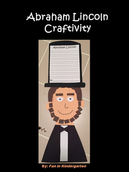 Abraham lincoln crafts teaching resources teachers pay teachers abraham lincoln craft abraham lincoln craft fandeluxe Gallery