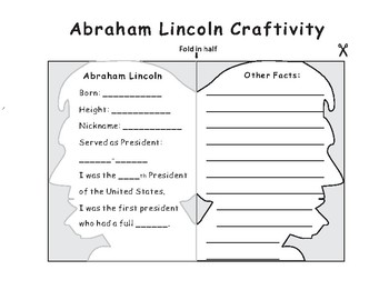 US President-Abraham Lincoln Craft