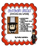 Abraham Lincoln Craftivity and ELA activities