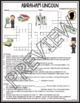 Abraham Lincoln Activities Crossword Puzzle and Word Search Find