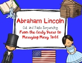 Abraham Lincoln Cut and Paste Sequencing Differentiated Levels