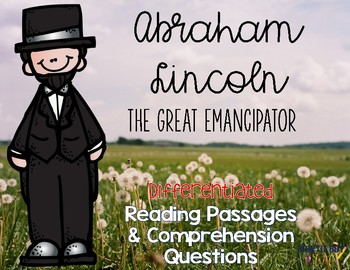 Abraham Lincoln Differentiated Reading Passages