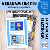 Abraham Lincoln | Digital Progression Color By Code | Goog
