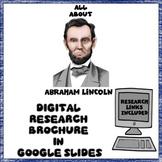 Abraham Lincoln Digital Research Brochure