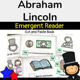 Abraham Lincoln Book (Emergent Reader) and Class Read Aloud