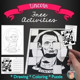 Abraham Lincoln FREE - Great Presidents Day Activity