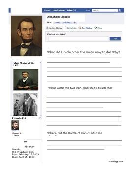 Abraham Lincoln Facebook SOL VS.7b