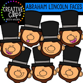 Abraham Lincoln Faces {Creative Clips Clipart}