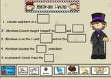 Abraham Lincoln Freebie for Smartboard