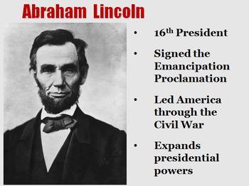 "Abraham Lincoln ""Harry Potter Magical Portrait"" Powerpoint"
