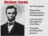 "Abraham Lincoln ""Harry Potter Magical Portrait"" Powerpoint"