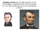 Abraham Lincoln History and Quiz