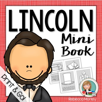 """Abraham Lincoln: Honest Abe"" Mini-Book"