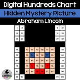 Abraham Lincoln Hundreds Chart Hidden Picture Activity for Presidents' Day