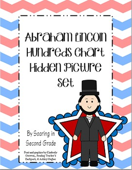 Abraham Lincoln Hundreds Chart Hidden Picture Set