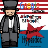 Abraham Lincoln Hyperdoc with President Fact Card