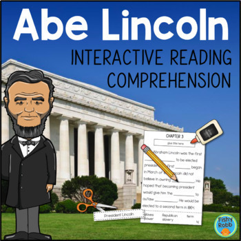 Abraham Lincoln Reading Comprehension Interactive Activity