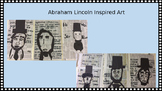 Abraham Lincoln Inspired Art Lesson