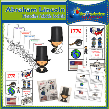 Abraham Lincoln Interactive Foldable Booklets - EBOOK