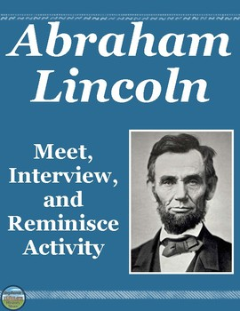 Abraham Lincoln Interview Review Activity