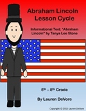 Abraham Lincoln Lesson Cycle