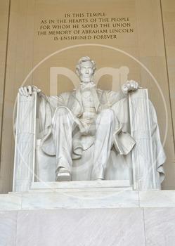 Abraham Lincoln Memorial Stock Photos