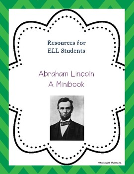 Abraham Lincoln Minibook for ELL Students