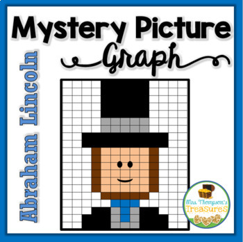 Abraham Lincoln Mystery Picture Graphing Activity
