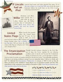 Abraham Lincoln - Online Exploration