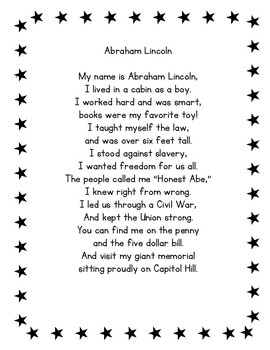Abraham Lincoln Poetry Center Pack